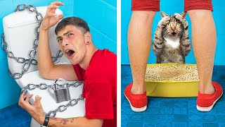 Funny Pranks On Friends! Prank Wars