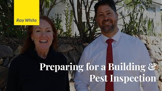 Preparing for a Building and Pest Inspection