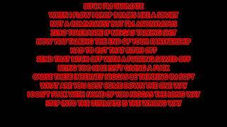 Denzel Curry - Bloodshed Lyrics