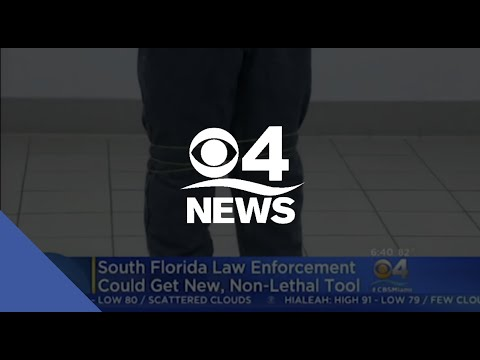 CBS 4 Miami: Police Get Look At New Non-Lethal Device That Subdues Suspects