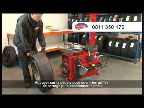 Comment utiliser le démonte-pneus UNITE U221 - Tyre Bay Direct Ltd