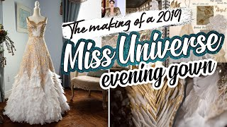The Making Of A Miss Universe 2019 Evening Gown