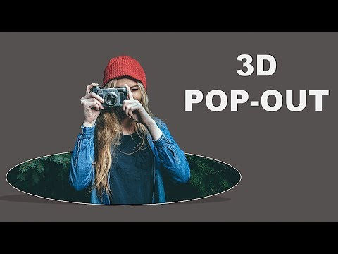 How to make 3d Pop-out photos in Microsoft PowerPoint 2016 – PowerPoint Tutorial