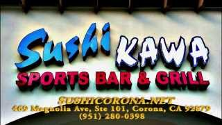 Sushi Kawa Sports Bar and Grill commercial
