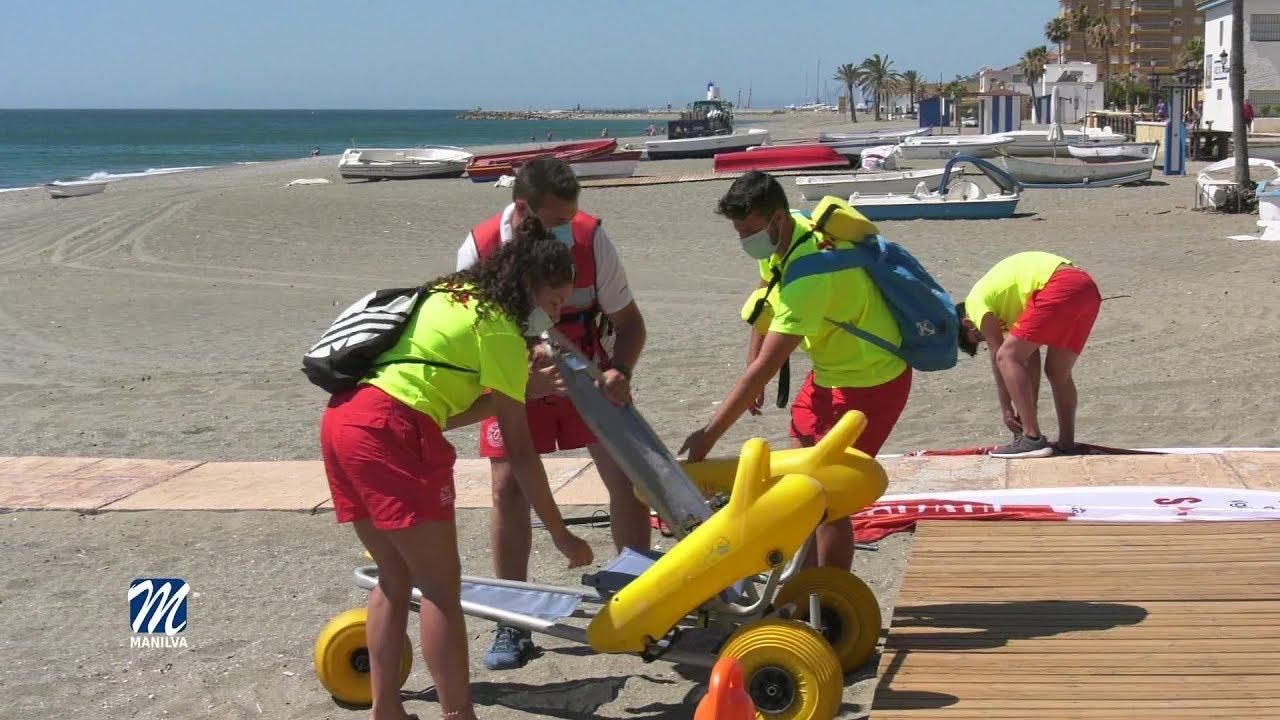 Se inicia la campaña de playas