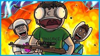CHICKEN DINNER OVERLOADED NOGLA'S BRAIN!! - PUBG Funny Moments & Fails! (Battlegrounds Gameplay)