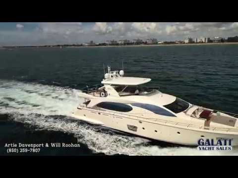 Azimut 85 Flybridge video