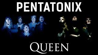 Bohemian Rhapsody - Pentatonix & Queen (side by side)