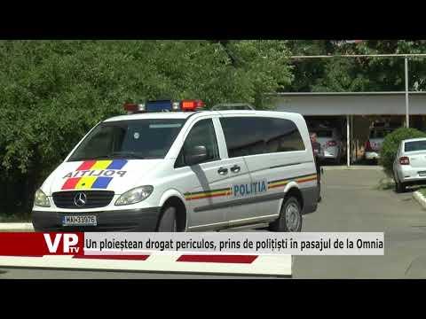 Un ploieștean drogat periculos, prins de polițiști în pasajul de la Omnia