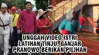 Unggah Video Istri Berlatih Tinju, Ganjar Pranowo: Apa yang akan Kamu Lakukan?