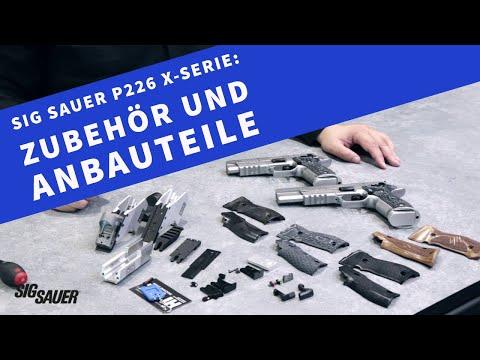 sig-sauer: Teil 3 der Videoserie zur SIG Sauer X-Serie der P226: Anbau- und Zubehörteile