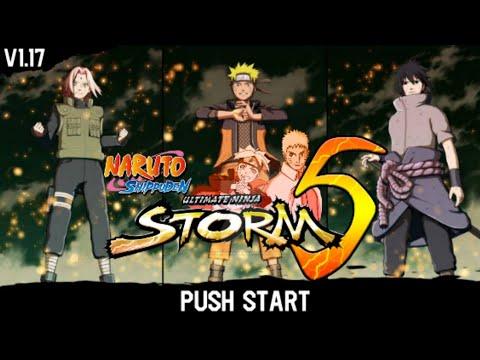 Naruto Senki Mod Storm 5 Para Android