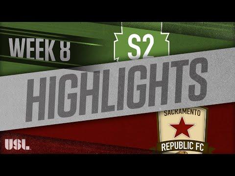 Seattle 2 - Сакраменто Репаблик 1:2. Видеообзор матча 06.05.2018. Видео голов и опасных моментов игры