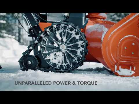 Ariens Platinum 28 SHO RapidTrak in Francis Creek, Wisconsin - Video 1