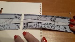 Как сделать устройство для косой бейки из подручных материалов
