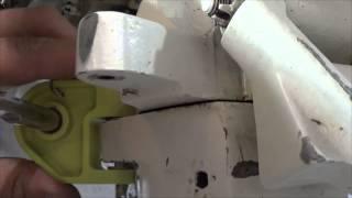 Rockwell Commander Steering Damper Installation