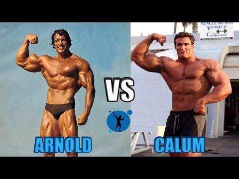Calum Von Moger Arnold Schwarzenegger Vs