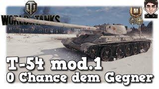 World of Tanks - T-54 mod. 1, 0 Chancen dem Gegner [deutsch | Replay]