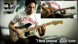 Joan Jett - I Need Someone guitar cover