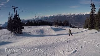 Whistler Peak2Peak Gondola & Blackcomb Terrain Park & more