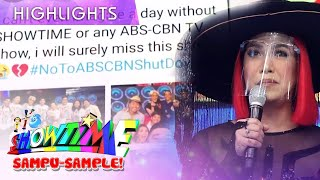 Vice Ganda thanks the Madlang People for waiting It's Showtime family's return.  Subscribe to ABS-CBN Entertainment channel! - http://bit.ly/ABS-CBNEntertainment  Watch your favorite Kapamilya shows LIVE! Book your tickets now at http://bit.ly/KTX-ShowtimeXP  Watch the full episodes of It's Showtime on TFC.TV  http://bit.ly/ItsShowtime-TFCTV and on iWant for Philippine viewers, click: http://bit.ly/ItsShowtimeiWant  Visit our official websites!  https://entertainment.abs-cbnom/tv/shows/itsshowtime/main http://www.push.com.ph  Facebook: http://www.facebook.com/ABSCBNnetwork Twitter: https://twitter.com/ABSCBN  Instagram: http://instagram.com/abscbn  #ItsShowtime #ShowtimeMagkaisayahan  #ABSCBNShowtime