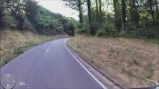 preview picture of video 'MTB Downhill vom Eichelberg im Schwarzwald zum Schützenhaus Muggensturm'