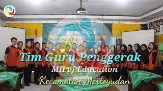 Launching Guru Penggerak || MH of Education Kec. Mertoyudan, 22 Oktober 2020.