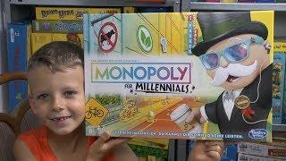 Monopoly Millennials (Hasbro) - ab 8 Jahre - ein Monopoly für Influencer!?