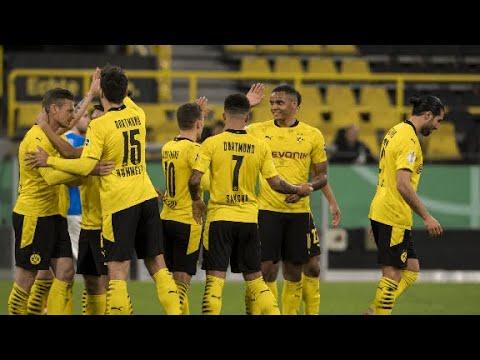 BORUSSIA ATROPELA E ESTÁ NA FINAL DA COPA DA ALEMANHA! Borussia Dortmund  5 x 0 Holstein Kiel