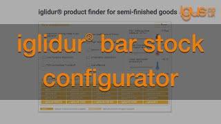 Bar stock Configurator