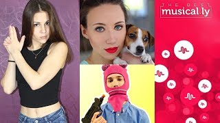 Лучшие клипы из Musically! Смотрю видео блогеров в Musically