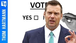 Will Immigration Czar Kris Kobach, Steal the 2020 Election? (w/ Greg Palast)