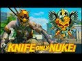 MY FIRST KNIFE ONLY NUKE! (Black Ops 4 - TDM 39.00 KD RATIO)