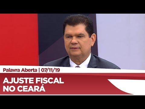 Mauro Benevides Filho analisa medidas de ajuste fiscal no Ceará