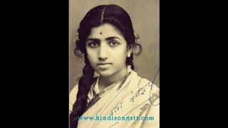 LATA JI-Film-MAAN:[1954]-Mere Pyar MeTujhe Kya Mila [None Echo HQ Sound]