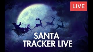 Where is santa right now tracker