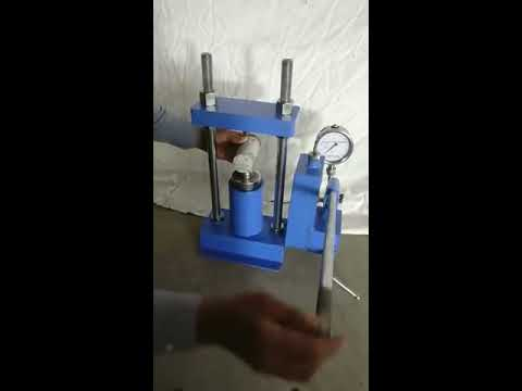 Point Load Index Tester - Hand Operated