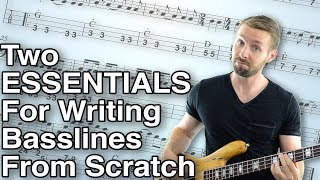 How To Write A Bassline From Scratch: 2 Crucial Elements (Lesson 1/9)