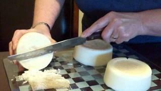 Soap making Homemade soap handmade natural, old fashion using beef tallow