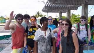 preview picture of video 'Ocean Motion Laughingbird Caye Placencia- Belize'
