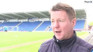 WATCH Dylan Kerr Post Oldham Athletic