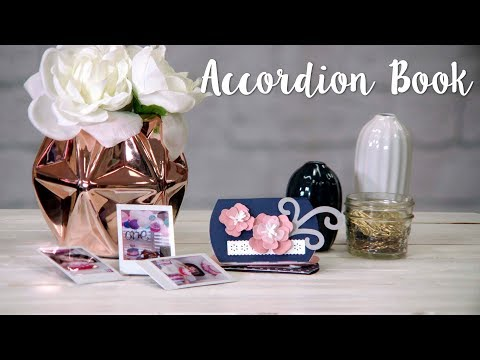 How to Make an Accordion Book with the Big Shot Foldaway!