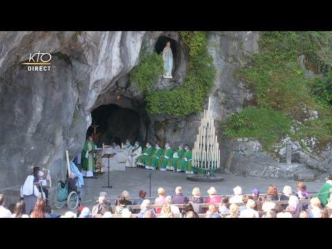 Messe de 10h à Lourdes du 27 juillet 2021