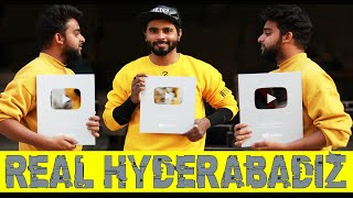 Real Hyderabadiz #25 | Finally We Got| Silver Play Button | Thanks for your love & support 142k Subs