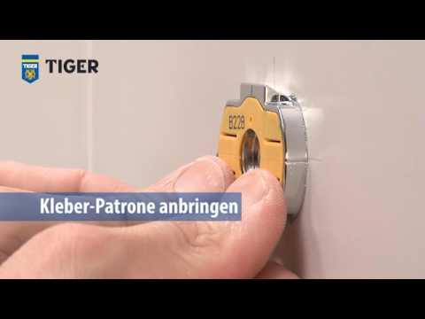 TigerFix-Klebesystem für Tiger-Badaccessoires