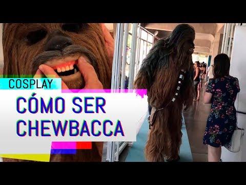 COSPLAY CHEWBACCA | Instagram @playz.es | TLP Tenerife 2018