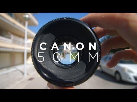 DAS BILLIGE WUNDER-OBJEKTIV | Canon 50mm 1.8
