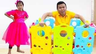 Jannie Pretend Play Learning Shapes for Kid Toys | Fun Educational Video for Children