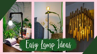 3 Easy DIY Lamp Ideas || Best From Waste || Interior Maata