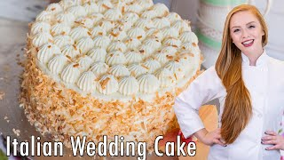 Italian Wedding Coconut Cake
